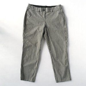 Size 16 Gingham high waisted stretch pant